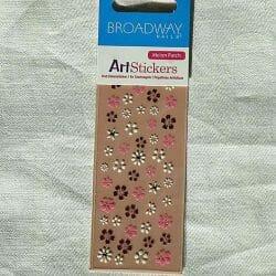 Produktbild zu Broadway Nails Arts Stickers – Design: Melon Patch