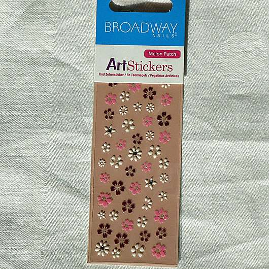 <strong>Broadway Nails</strong> Arts Stickers - Design: Melon Patch