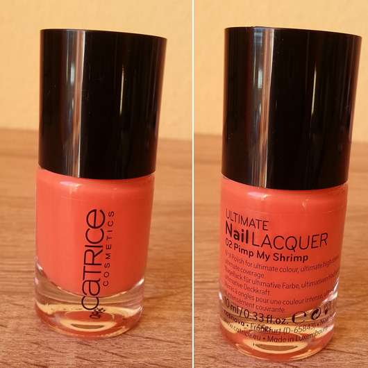 Catrice Ultimate Nail Lacquer, Farbe: 02 Pimp My Shrimp
