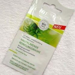 Produktbild zu lavera Naturkosmetik Hautklärende Reinigungsmaske