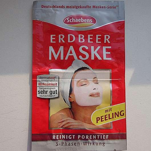 Schaebens Erdbeer Maske