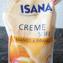 ISANA Creme Seife Mango & Orange (Nachfüllbeutel)
