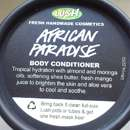LUSH African Paradise (Body Conditioner)