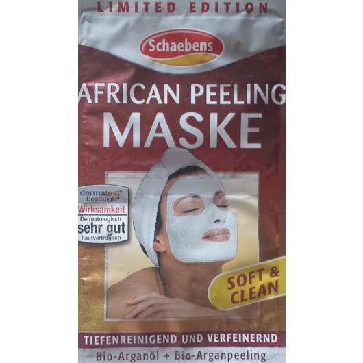 Schaebens African Peeling Maske (LE)
