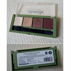 Produktbild zu alverde Naturkosmetik Quattro Lidschatten – Farbe: 37 Chocolate
