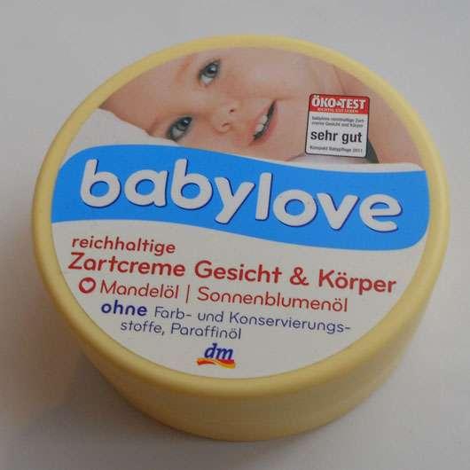<strong>babylove</strong> reichhaltige Zartcreme Gesicht & Körper