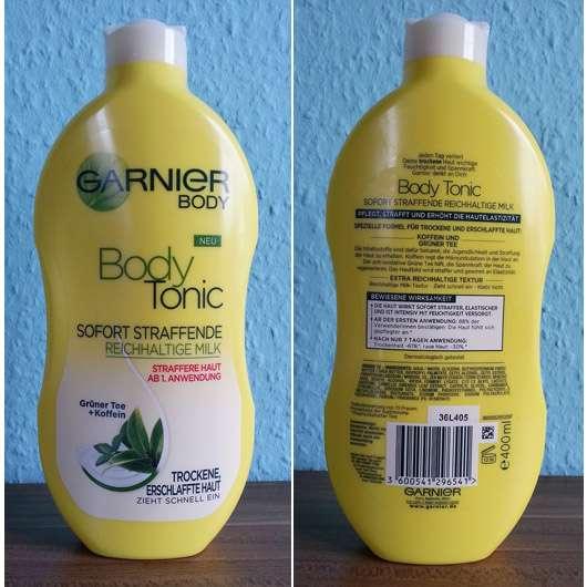 Garnier Body Tonic Sofort Straffende Reichhaltige Milk