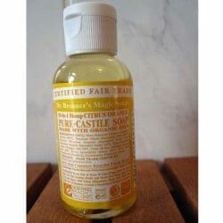 Produktbild zu Dr. Bronner's Magic Soaps Pure-Castille Soap Citrus Orange