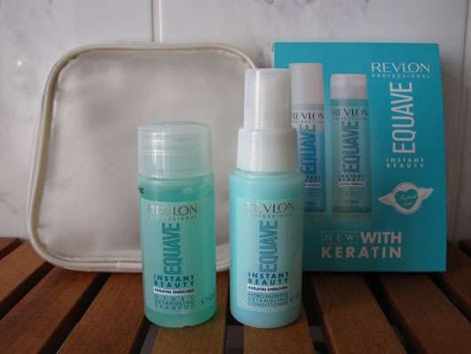 <strong>REVLON PROFESSIONAL EQUAVE</strong> Reiseset (Shampoo & Conditioner)