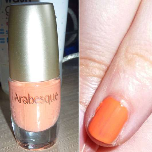 <strong>Arabesque</strong> Nagellack - Farbe: 14 Pastell Koralle