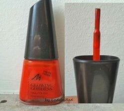Produktbild zu MANHATTAN Glowing Goddess Nail Polish – Farbe: 40 Degrees (LE)