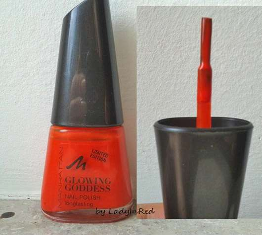 Manhattan Glowing Goddess Nail Polish, Farbe: 40 Degrees (LE)