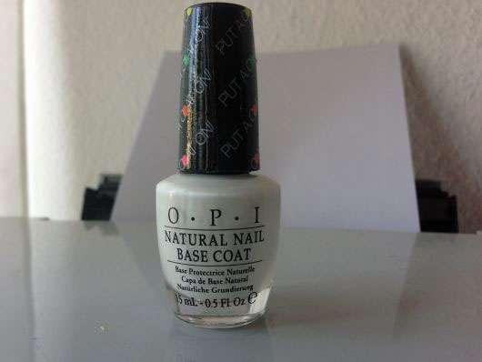 OPI Natural Nail Base Coat, Farbe: Put A Coat On (LE)