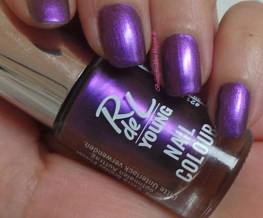 Rival de Loop Young Nail Colour, Farbe: 21 two face