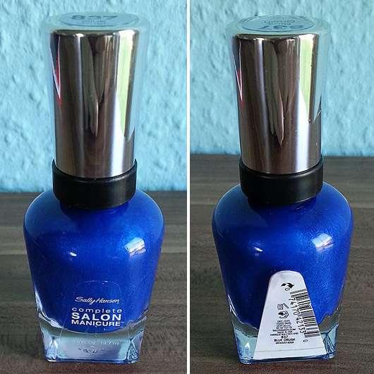 Sally Hansen Complete Salon Manicure Nagellack, Farbe: 837 Blue Crush (LE)