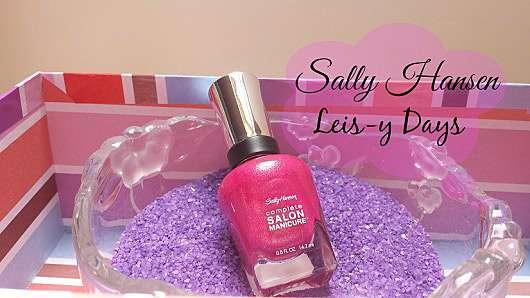 Sally Hansen Complete Salon Manicure Nagellack, Farbe: 836 Leis-y Days (LE)