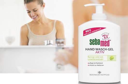 Das neue Hand Wasch-Gel aktiv von sebamed