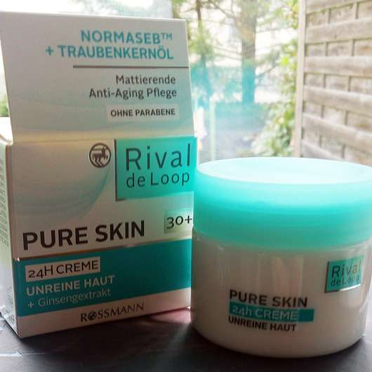 Rival de Loop Pure Skin 24H Creme (Unreine Haut)