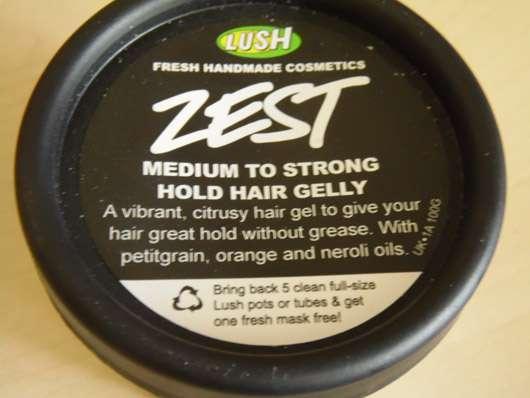 LUSH Zest (Styling Jelly)