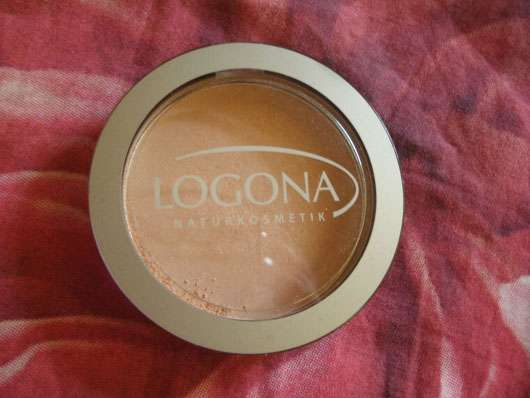 <strong>LOGONA</strong> Face Powder - Farbe: 03 sunny beige