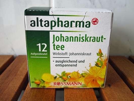 <strong>ALTAPHARMA</strong> Johanniskrauttee