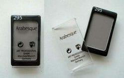 Produktbild zu Arabesque Kompakter Lidschattenpuder – Farbe: 295 Grau Matt