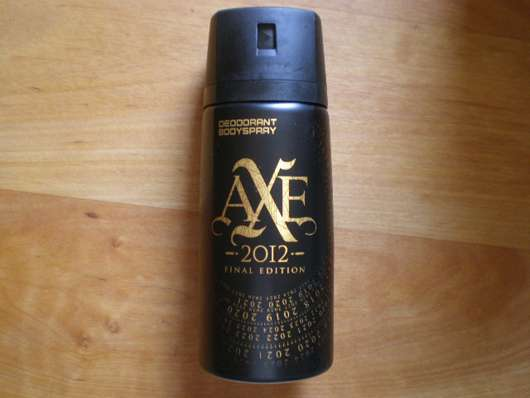 <strong>AXE</strong> 2012 Final Edition Deodorant Bodyspray