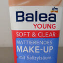 Balea Young Soft & Clear Mattierendes Make-Up, Nuance: 01 Natural