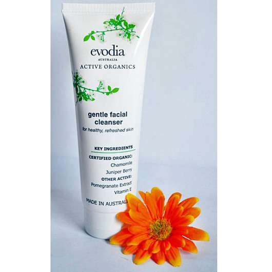 evoida Active Organics Gentle Facial Cleanser