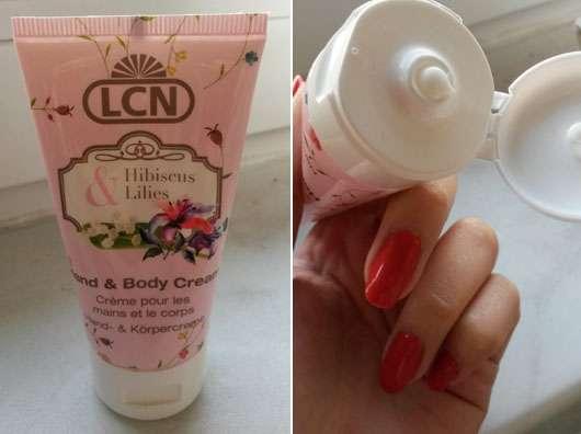 LCN Hand & Body Cream Hibiscus & Lilies (LE)