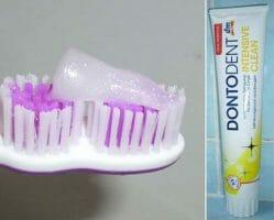 Produktbild zu DONTODENT Intensive Clean Zahncreme