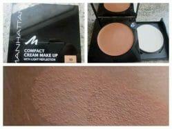 Produktbild zu MANHATTAN Compact Cream Make Up – Farbe: 10 Sandbeige