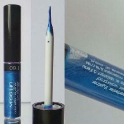 Produktbild zu Misslyn Color Effect Eyeliner Waterproof – Farbe: 09 Morocco Nights