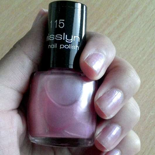 Misslyn nail polish, Farbe: 115 sweetheart