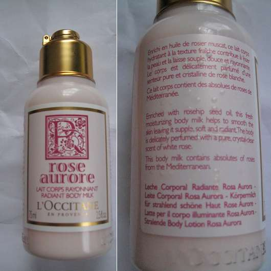 L'Occitane Rose Aurore Körpermilch