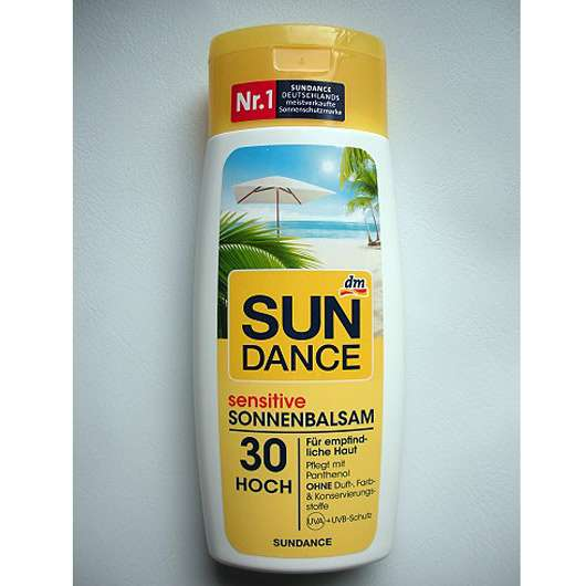 SUNDANCE sensitive Sonnenbalsam LSF 30