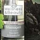 """Wellness & Beauty Massageöl """"wunderbar verwöhnt"""""""