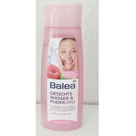 Balea Gesichtswasser & Puder 2in1
