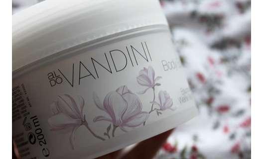 Aldo Vandini Pure Hydro Body Balsam Baumwolle & Weiße Magnolie