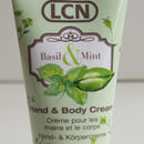 LCN Hand & Body Cream Basil & Mint (LE)