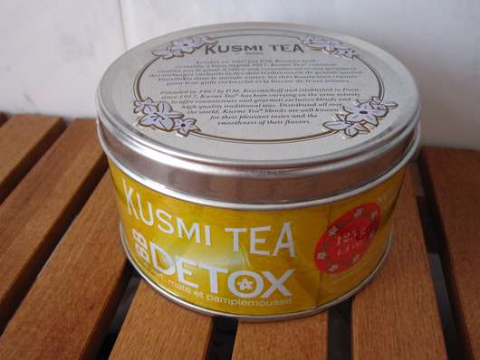KUSMI TEA BB DETOX (Grüner Tee, Mate und Grapefruit)