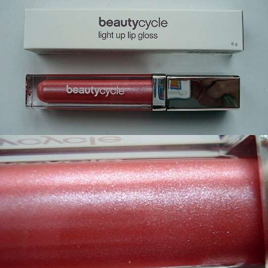 <strong>beautycycle colour</strong> light up lip gloss - Farbe: Glitz