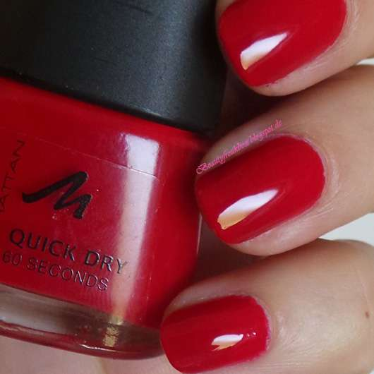 MANHATTAN Quick Dry 60 Seconds Nail Polish, Farbe: 44S