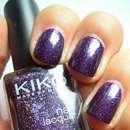 KIKO nail lacquer, Farbe: 255 Violet Microglitter