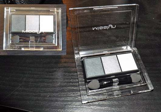 Misslyn high shine trio eyeshadow, Farbe: 02 revival (LE)