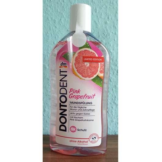 <strong>DONTODENT</strong> Pink Grapefruit Mundspülung (LE)
