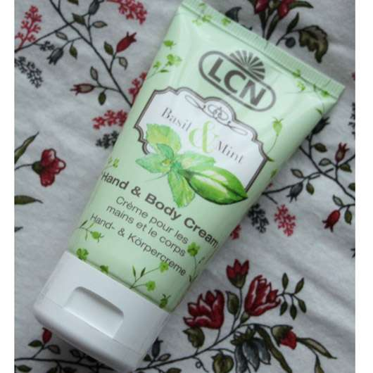 LCN Hand & Body Cream Basil & Mint (LE)