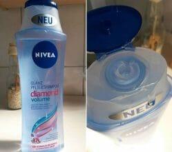 Produktbild zu NIVEA Diamond Volume Glanz Pflegeshampoo