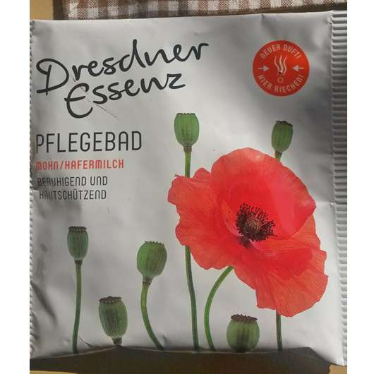 <strong>Dresdner Essenz</strong> Pflegebad Mohn/Hafermilch
