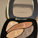 L'Oreal Paris Color Riche Quad Lidschatten, Farbe: E1 Beige Trench